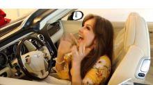 Thalía presume los beneficios de tener un marido rico; mira el video