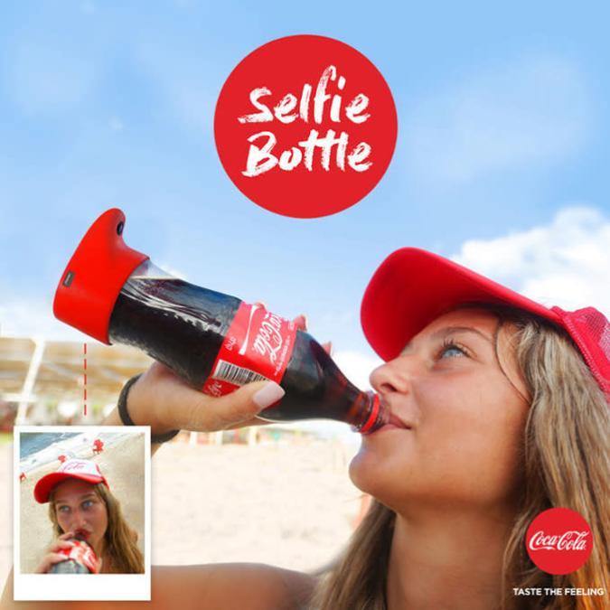 1st World Problem gelöst: Coca-Cola-Selfie-Flasche
