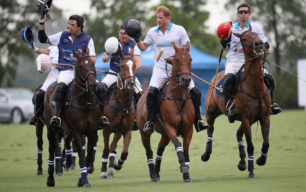 Lord Mountbatten was a polo mentor to Prince Harry - 2016 Getty Images