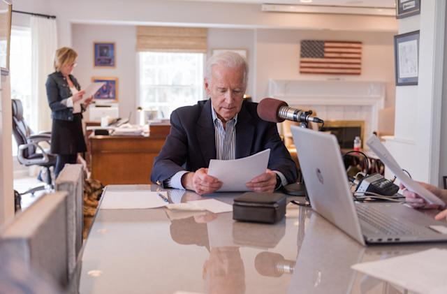 Joe Biden will give daily news briefings on Echo and Google Home