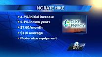 Duke Energy rate increase approved in NC