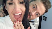 Nikki Bella and 'DWTS' pro Artem Chigvintsev are engaged — and have been since November
