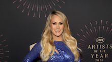 Carrie Underwood shows off baby bump at CMT Artists of the Year