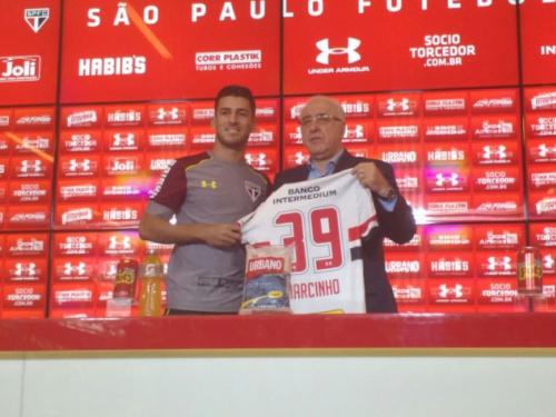 Com passagem por rival, reforço do São Paulo diz: 'Já vou torcer contra'