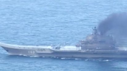 Russian warships sail down Channel