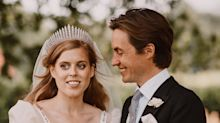 Princess Beatrice spoke about her lockdown wedding for the first time