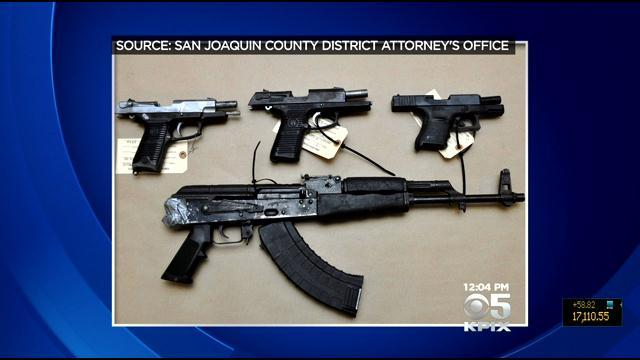 Weapons Surface From Deadly Stockton Bank Robbery Shootout