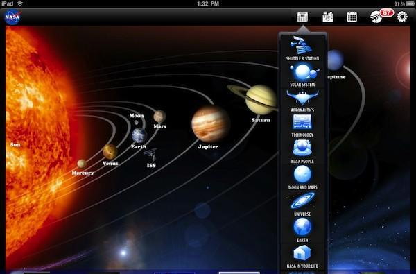 NASA launches free iPad app