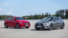 Mercedes présente les Classe A et Classe B hybrides rechargeables