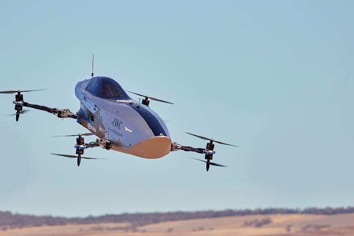 Airspeeder completes the first test flight for its electric flying race car