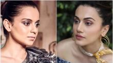 Taapsee Pannu Reacts To Kangana Ranaut's Fresh Attack On Her With The 'B Grade Actor' Comment