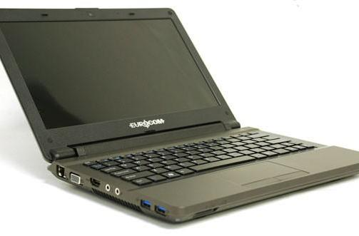 Eurocom Monster 11.6-inch notebook: Ivy Bridge, Kepler, 16 GB RAM, multiple personalities