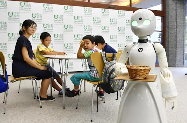 Tokyo cafe to use robot waiters operated by people with physical disabilities
