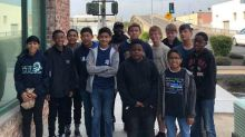 Middle school boys praised for stopping suicidal woman from jumping off bridge