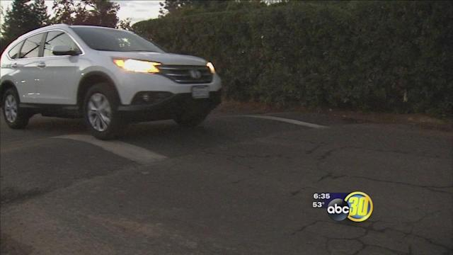 Fresno calls pair of speed bumps illegal and dangerous