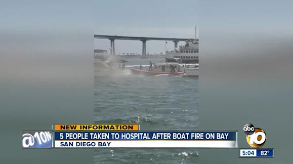 UPDATE 2-California boat fire victims likely died of smoke