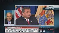 Former Dem. governor sees 'holes' in Christie's story
