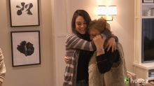 WATCH Mila Kunis surprise her parents by making over her childhood home