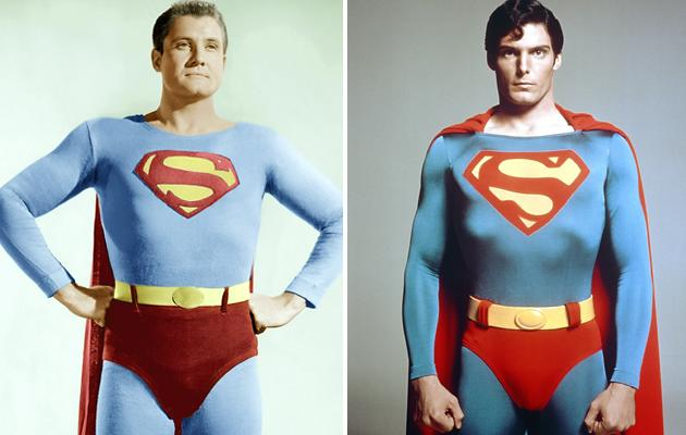 George Reeves And Christopher Reeve
