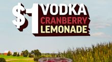 Celebrate the Season of Togetherness with Applebee's $1 Vodka Cranberry Lemonade