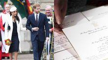 哈利王子、Meghan 婚禮請柬都寄出了!皇室公開請柬製作的「幕後花絮」