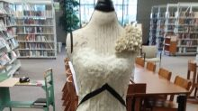 This Gorgeous Dress Is Entirely Made of Books About Strong Women