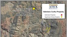 ATEX Options Valeriano Copper Gold Property