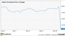 Why Dollar Tree, Inc. Stock Sank 14% Last Month