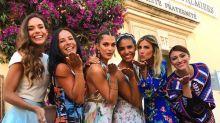 Les Miss France font le show au mariage de Sylvie Tellier
