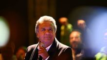 Ecuador leftist leads presidential vote but may face runoff