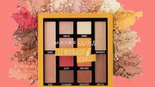 Maybelline's lemon-scented eyeshadow palette