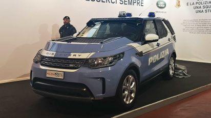 Land Rover Discovery, 30 unidades preparadas para la policía italiana