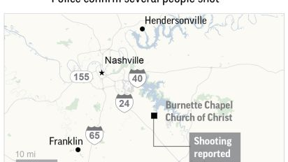 The Latest: Police say church shooter turned gun on himself