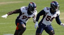 AP source: Broncos star Miller sustains serious ankle injury
