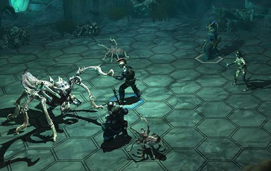 Examine the vast skill system found in Blackguards