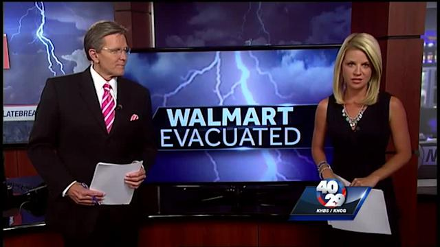 MLK Walmart closed, evacuated after power pole causes problems