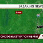 Homicide under investigation in Barre
