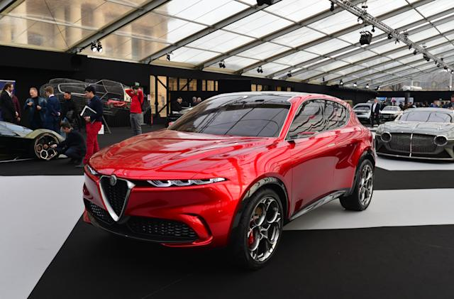 Fiat Chrysler's early EV plans include an Alfa Romeo SUV in 2022