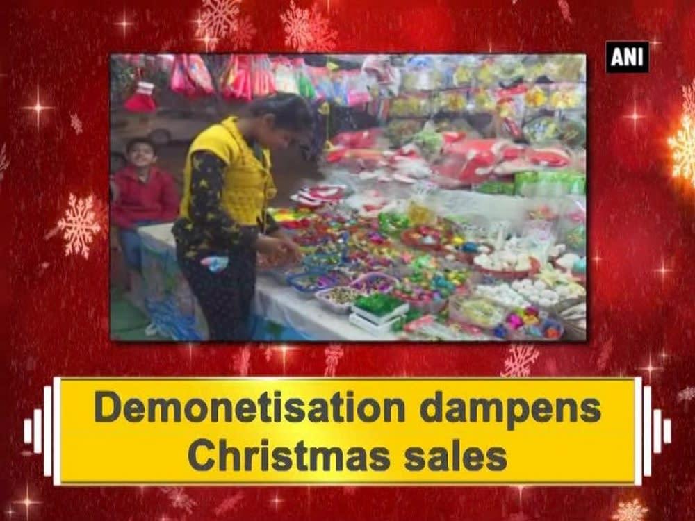Demonetisation dampens christmas sales video for Christmas decs sale