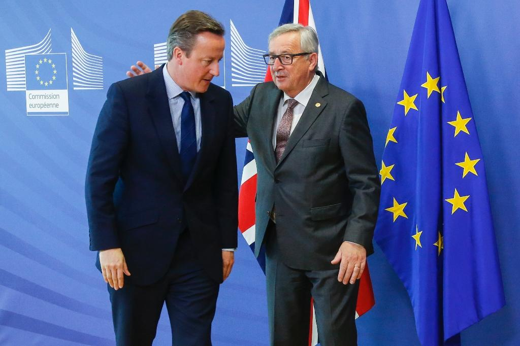 Juncker says he made a mistake by listening to British leader David Cameron when he told him to stay out of the campaign before the June 2016 Brexit vote (AFP Photo/THIERRY ROGE)