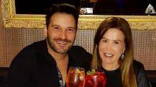 Zilu Godói e Marco Ruggiero comemoram aniversário de namoro
