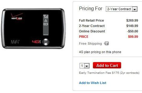 Verizon brings out LTE-riding MiFi 4510L, asks for $100 on a two-year contract or $270 without