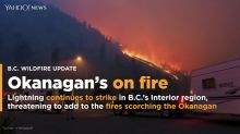 Gripped by wildfires, Okanagan braces for more lightning