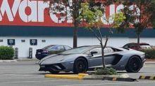 Lamborghini spotted in Bunnings carpark sparks hilarious debate