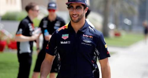 F1 - GP de Bahreïn - Daniel Ricciardo : «Une petite surprise d'être en deuxième ligne»