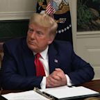 Trump says he'll go if he loses Electoral College