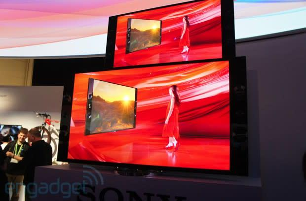 Sony's 65-and 55-inch Ultra HD TVs eyes-on