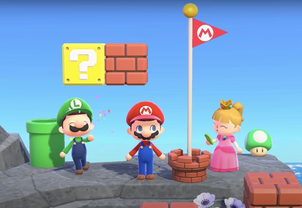 Animal Crossing's Mario update lets you recreate the Mushroom Kingdom - Engadget