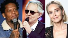 D.L. Hughley, Matt Damon and Sharon Stone among celebrities directly impacted by the coronavirus