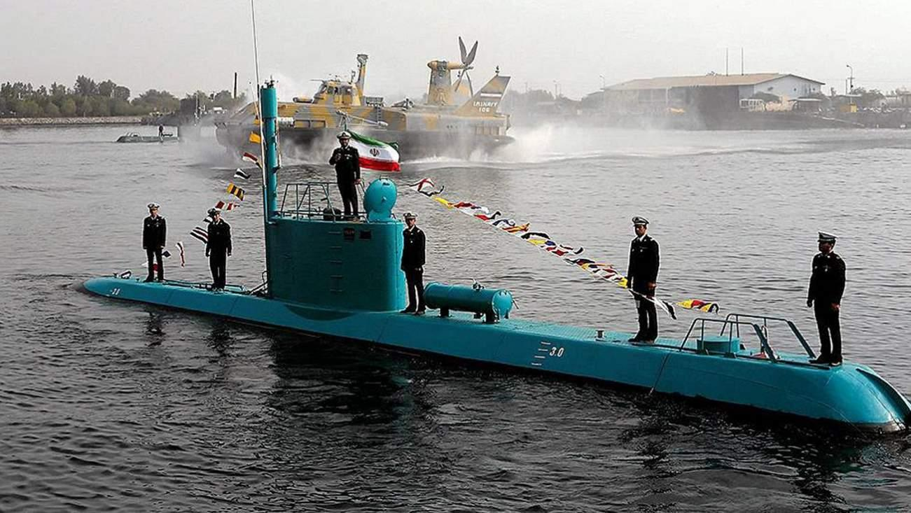 Resultado de imagen para A Dangerous Mini-Submarine Stars in Iran's Propaganda Video